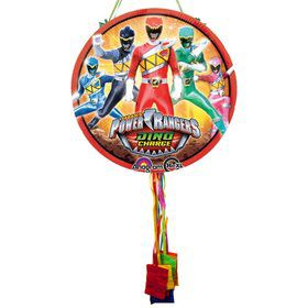Power Rangers Dino Charge Pull String Pinata