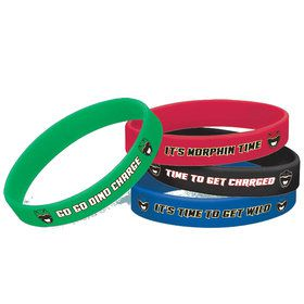 Power Rangers Dino Charge Rubber Bracelets (4)