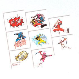 Power Rangers Dino Charge Tattoo Favors (16 Pack)
