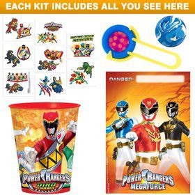 Power Rangers Favor Kit