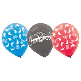 Power Rangers Latex Balloons (6 Pack)