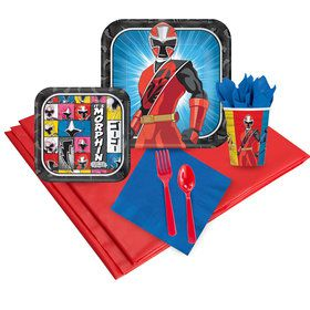 Power Rangers Ninja Steel 24 Guest Party Pack