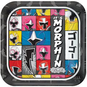 "Power Rangers Ninja Steel 7"" Cake Plates (8 Pack)"