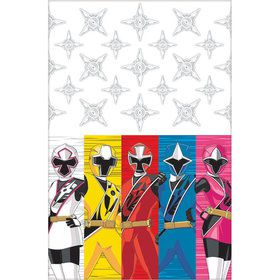 Power Rangers Ninja Steel Plastic Table Cover (Each)
