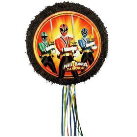 Power Rangers Pull String Pinata