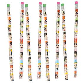 Powerpuff Girl Pencils (8 Count)
