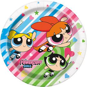 "Powerpuff Girls 9"" Luncheon Plates (8 Count)"