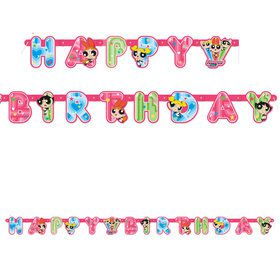 Powerpuff Girls Large Jointed Banner (Each)