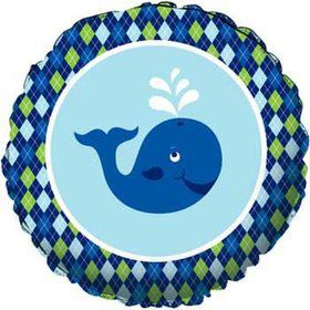 Preppy Blue Ocean Party Balloon (each)