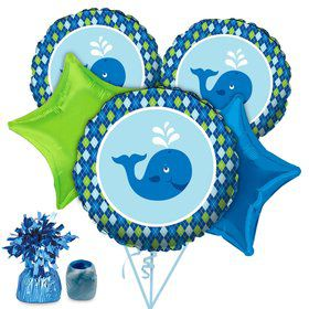 Preppy Blue Ocean Party Balloon Kit