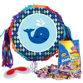 Preppy Blue Ocean Pinata Kit