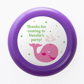 Preppy Pink Party Personalized Mini Discs (Set of 12)
