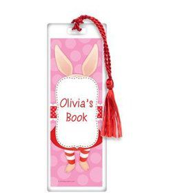 Pretty Pig Personalized Bookmark (each)
