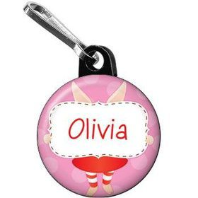 Pretty Pig Personalized Mini Zipper Pull (each)