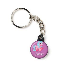 "Pretty Pony Personalized 1"" Mini Key Chain (Each)"