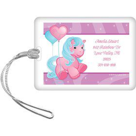 Pretty Pony Personalized Luggage Tag (each)