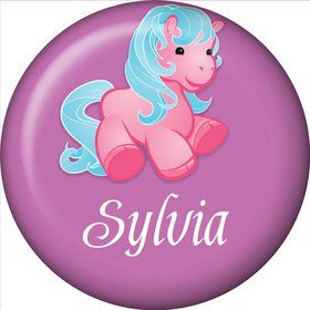 Pretty Pony Personalized Mini Magnet (each)