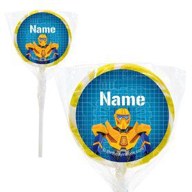 "Prime Robot Personalized 2"" Lollipops (20 Pack)"