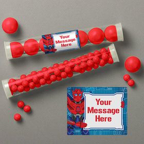 Prime Robot Personalized Candy Tubes (12 Count)