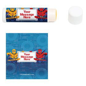 Prime Robot Personalized Lip Balm (12 Pack)