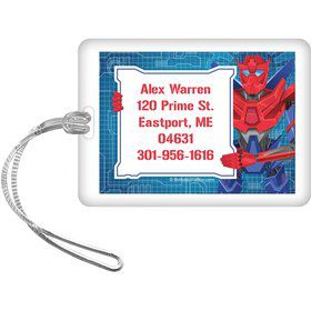 Prime Robot Personalized Luggage Tag (each)