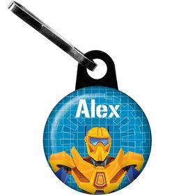 Prime Robot Personalized Zipper Pull (each)