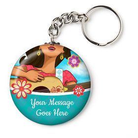 "Princesa Personalized 2.25"" Key Chain (Each)"