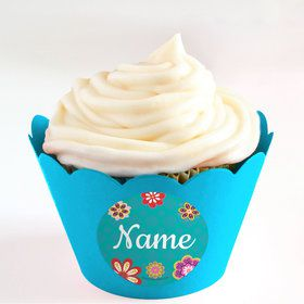 Princesa Personalized Cupcake Wrappers (Set of 24)
