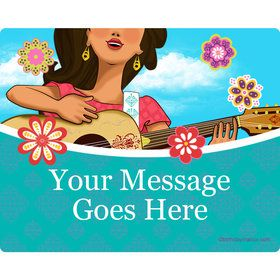 Princesa Personalized Rectangular Stickers (Sheet of 15)