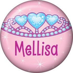 Princess 1st Birthday Personalized Mini Magnet (each)