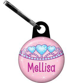 Princess 1st Birthday Personalized Zipper Pull (each)