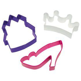 Princess 3 Pc. Cookie Cutter Set (Each)