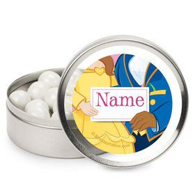 Princess and Beast Personalized Candy Tins (12 Pack)