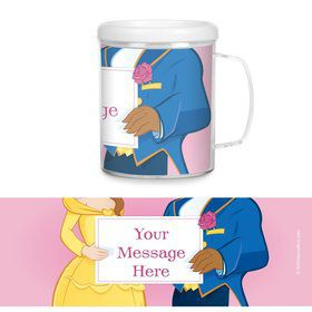 Princess and Beast Personalized Favor Mugs (Each)