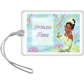 Princess And The Frog Personalized Bag Tag (Each)