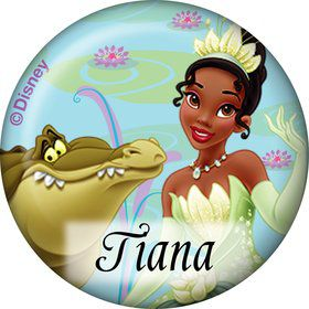 Princess And The Frog Personalized Mini Button (Each)