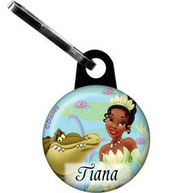 Princess And The Frog Personalized Mini Zipper Pull (Each)