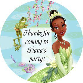 Princess And The Frog Personalized Stickers (Sheet Of 12)