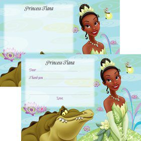 Princess And The Frog Personalized Thank You Note (Each)