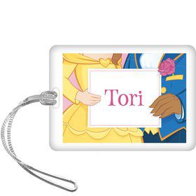Princess & Beast Personalized Bag Tag (each)