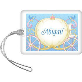 Princess Coach Personalized Bag Tag