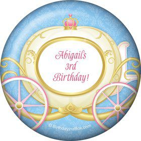 Princess Coach Personalized Magnet
