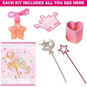Princess Favor Kit (for 1 Guest)