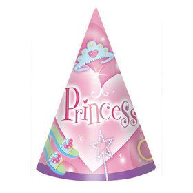 Princess Hats (6 pack)