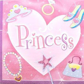 Princess Napkins (16-pack)