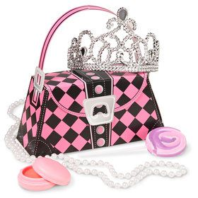 Princess Party Filled Favor Box (4-Pack)