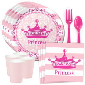 Princess Party Standard Tableware Kit (Serves 8)