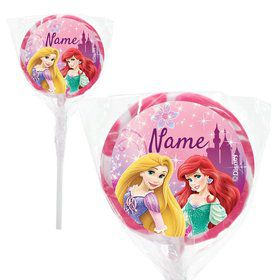 "Princess Personalized 2"" Lollipops (20 Pack)"