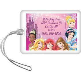 Princess Personalized Bag Tag (Each)