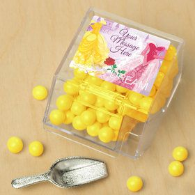 Princess Personalized Candy Bin with Candy Scoop (10 Count)